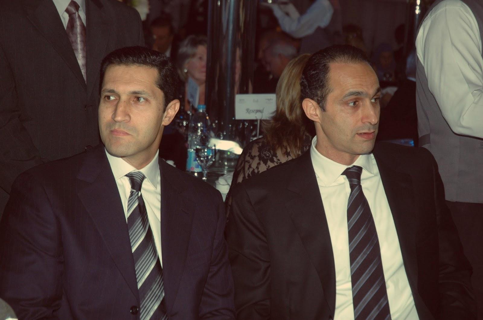 vision magazine hosni mubarak s two sons arrested for stock